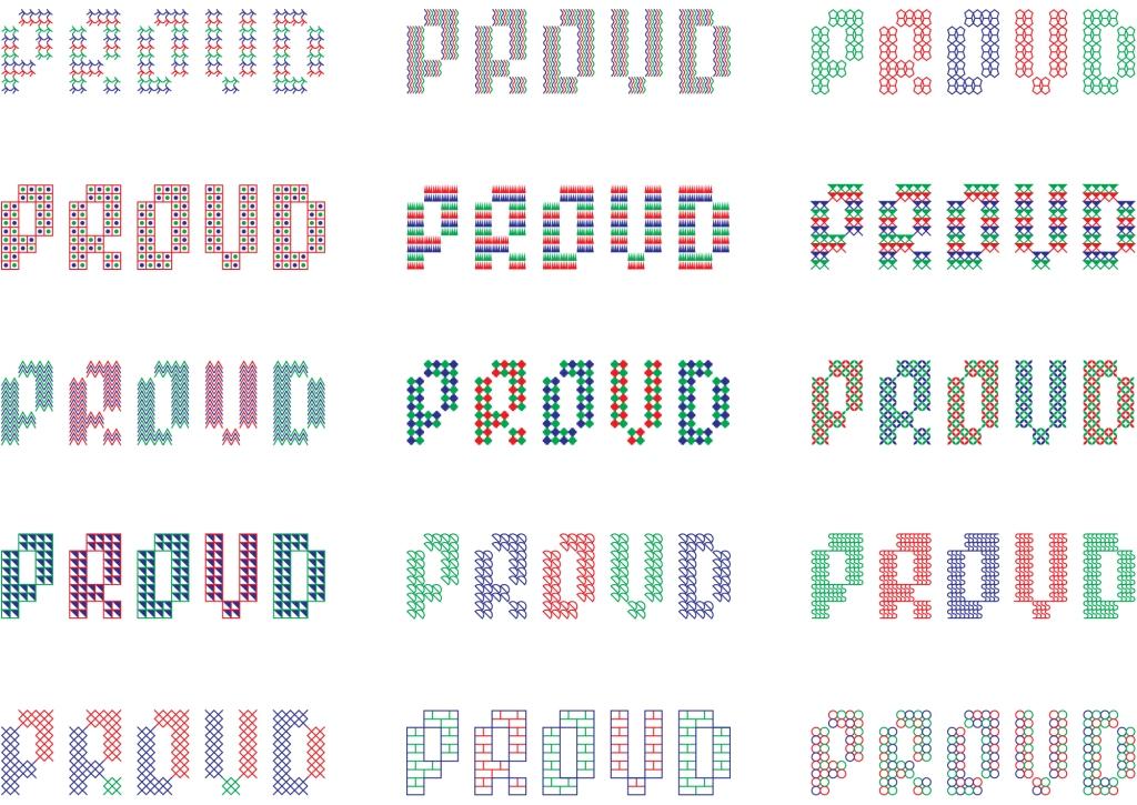 Proud 12 logos