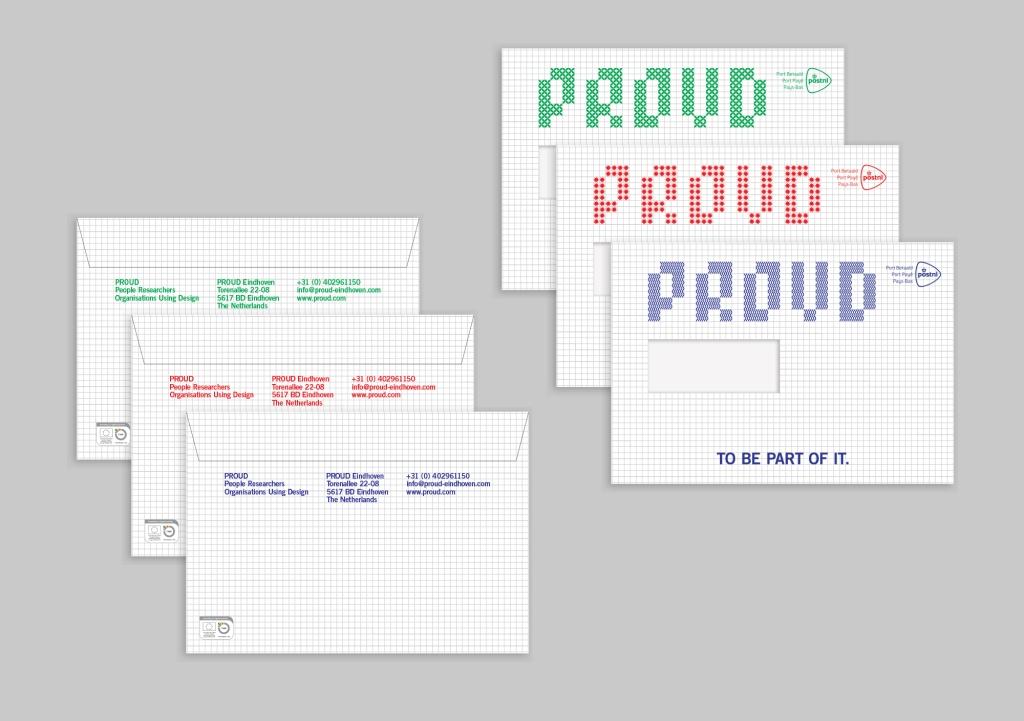 Proud envelopes